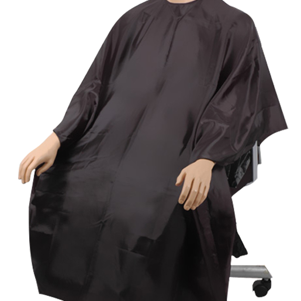 HAIR CUTTING GOWN HAIR SALON BARBERS CAPE  BLACK  eBay