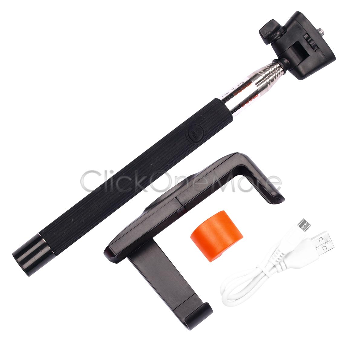 88g monopod selfie stick telescopic wireless remote phone holder for iphone. Black Bedroom Furniture Sets. Home Design Ideas