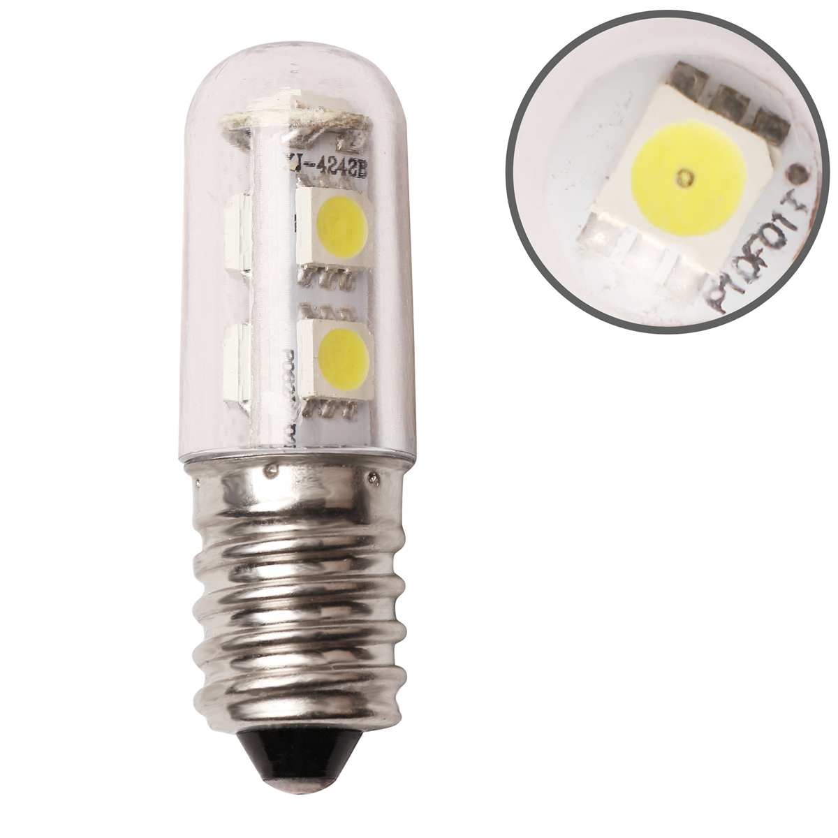 Wow e14 1w mini led light bulb white for range hood chimney fridge cabinet ebay Mini bulbs