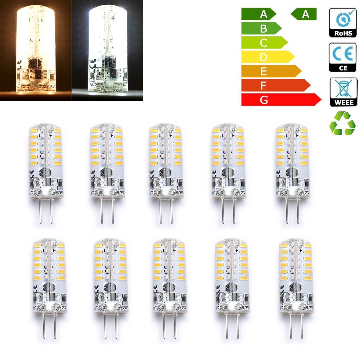 wow 10 x g4 3w 48 led 3014 smd capsule bulb spot light energy saving ac dc 12v ebay. Black Bedroom Furniture Sets. Home Design Ideas