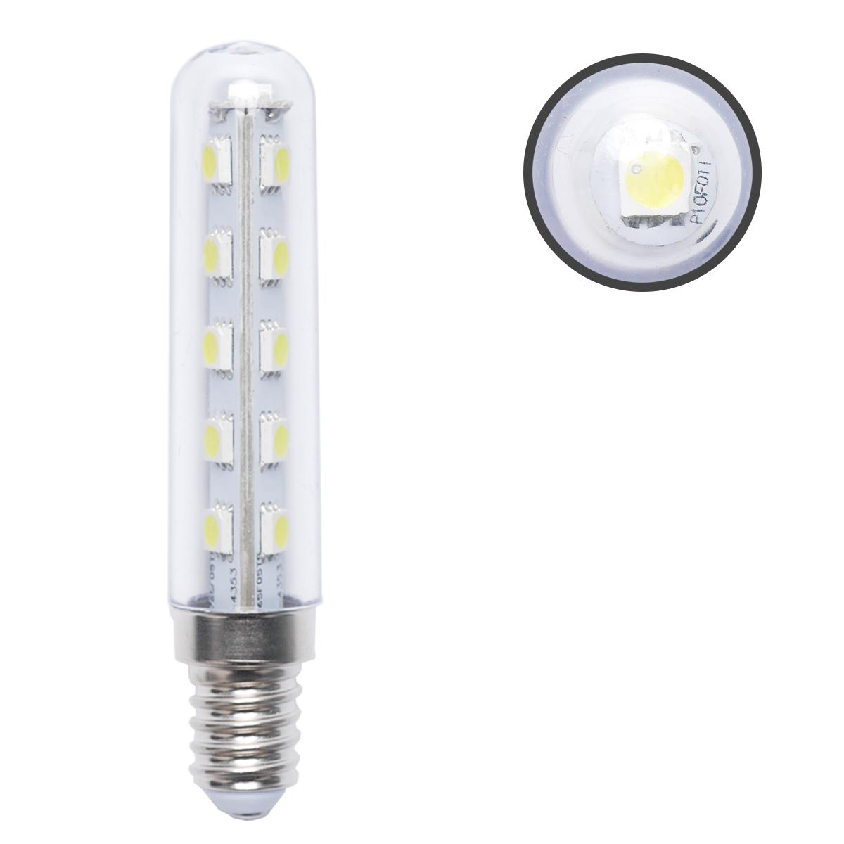 2 X E14 2 5W White LED Light Bulb FOR Kitchen Range Hood